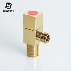 Chrome Plated 90D 1/2 *3/8 0.8Mpa Brass Angle Valve