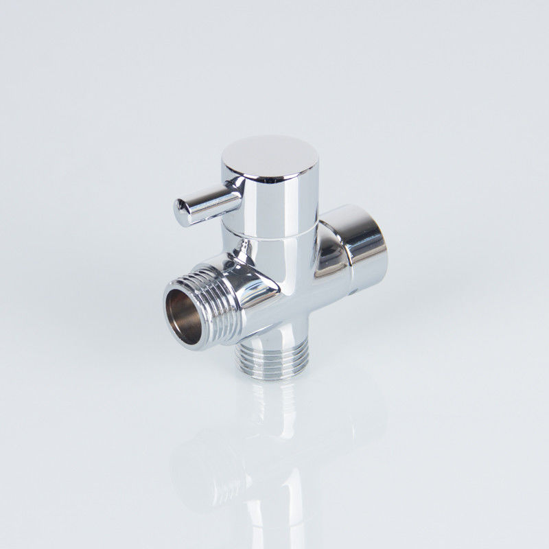 "G1/2"" Chrome Plated 158g Hot Water Diverter Valve"