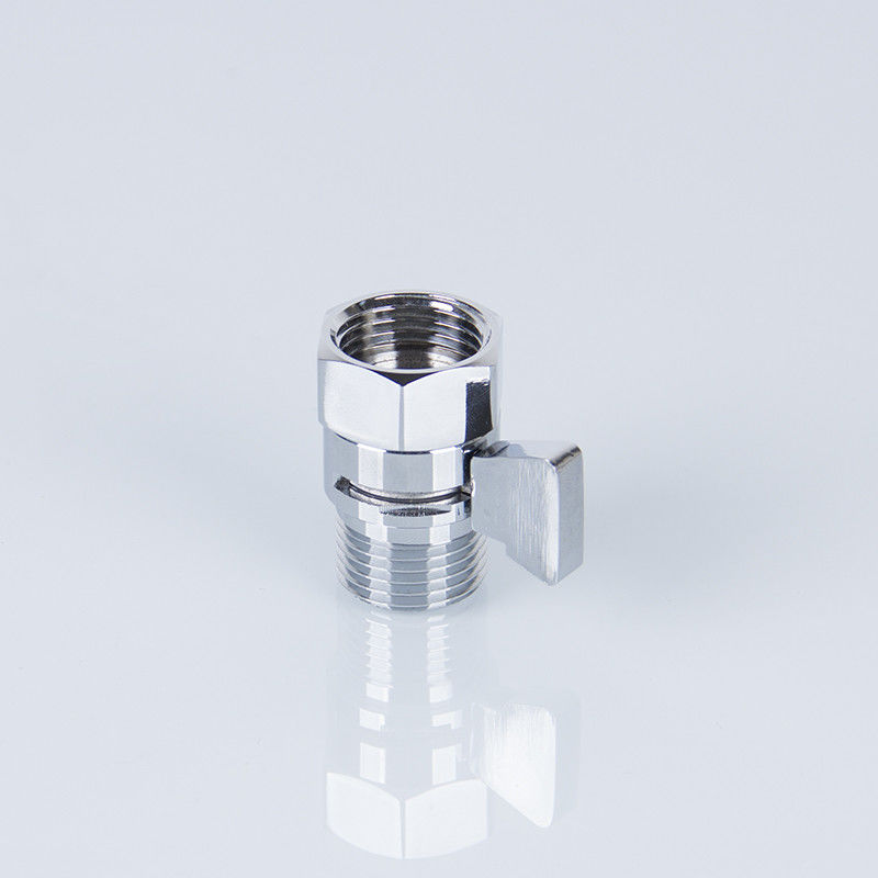 Shower Adapter 77g NPT Chrome Plated Angle Valve